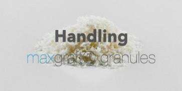 Handling maxgraft® granules